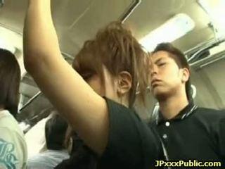 סקסי יפני שנתי העשרה של זיון ב ציבורי places 03
