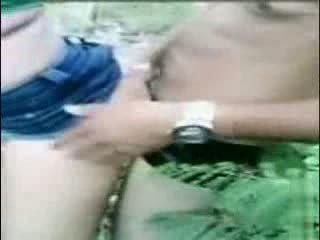 Drunken Latina Taken To Forest For Sex Video