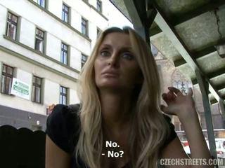 Warga czech streets - lucka menghisap zakar video