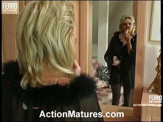 Agatha e rolf leggy mamma dentro azione