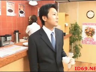 Japonsko av model ljubko pisarna punca