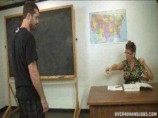 masturbación, acariciar cock, wood wanking