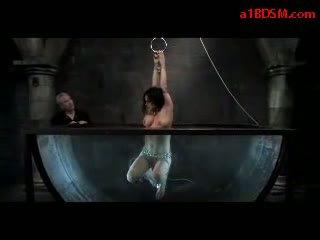 বালিকা সঙ্গে tied arms tortured সঙ্গে shocker getting তার পাছা rubbed সঙ্গে ডিলদো মধ্যে ঐ aquarium দ্বারা প্রধান মধ্যে ঐ অন্ধকার