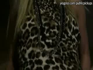 Kinky blondie Hooker Barra Brass anal slammed at the night club