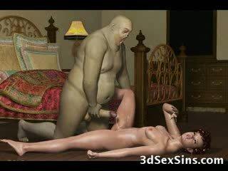 3d demons pieprzyć gorące babes!