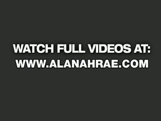 Alanah Rae Impaled Onto The Photo Set