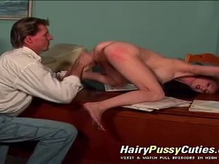 Anal Vaginal & Deepthroat Hardcore Action In This Hairy Cunt Redhead Woman Hardcore Film