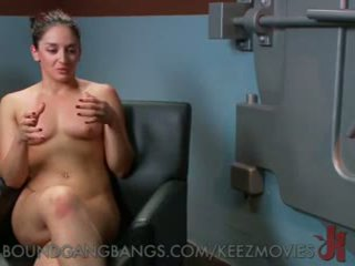 Sexy Bank Teller Gangbanged in a Robbery