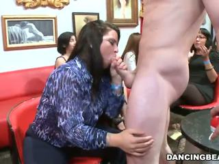 CFNM And Having Act In All Babe Party Nearby Male Strippers