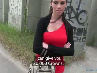 セクシー isabelle sucks と fucks のために 現金
