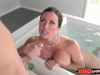 Step Mom is a good sex teacher to the young ones