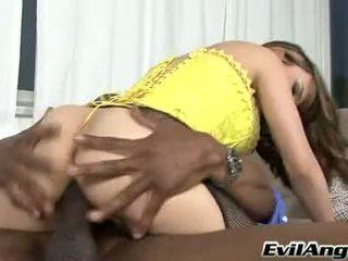 Sizzling hottie cytherea rides cô ấy âm hộ trên một con quái vật boner cho đến khi này gà con cums