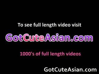 Great Looking Asian Whore Sucking Cock