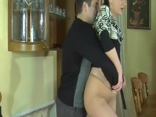 hot brunette, fun piledriver, new shaved pussy