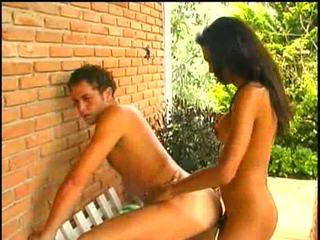 TS Claudia fucking with latino guy
