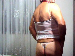 any crossdresser more, hot solo, watch lingerie