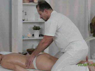 hottest brunette nice, best fucking ideal, masseur great