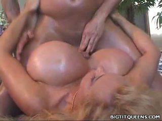 Kayla Kleevage Large Tit Fucking