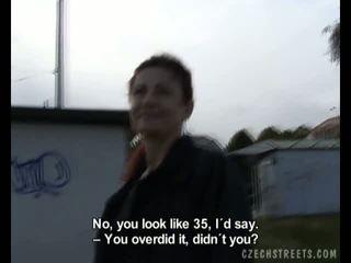 Ceko streets - alena mengisap penis video