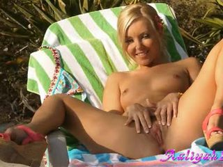 Aaliyah Love Spreadds Her Legs Wide Enough To Please Her Perverted Snatch