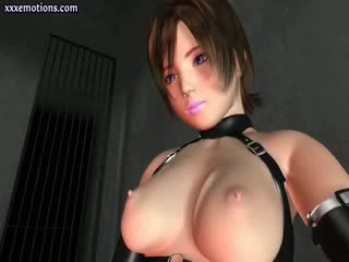 chick animated Blond tasting a Cock