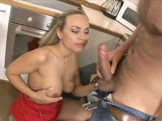 Mia Leone Fuck On Her Firm Zeppelins At Tthis Chab Kitchen