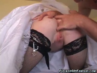 Audrey Hollander Acquires Fucked Right Into An Asshole On Her Wedding Day