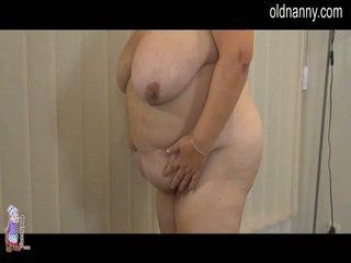 Elder cota striptease e lesbie porno