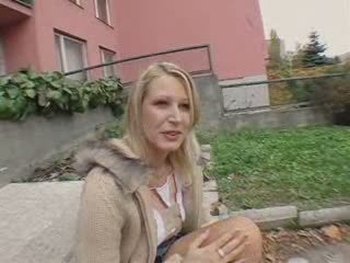 A Czech Public girl temptation