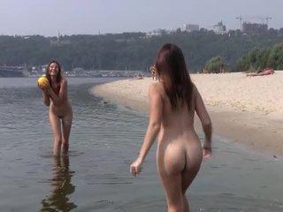 teen sex, outdoor sex, public sex, beach