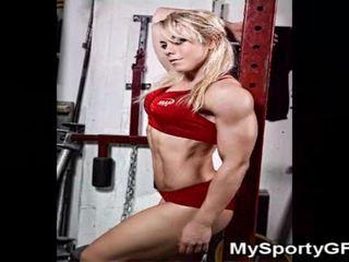 Fitnes babes dhe muskuloze gfs!