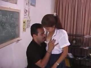 Pervert professor abusing frightened warga india remaja video