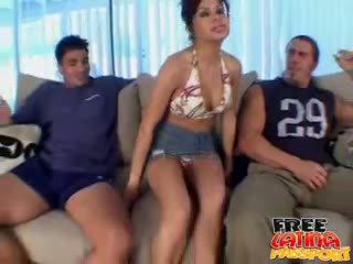 visi brunete, redzēt grupu sekss hq, ideāls latīņu liels