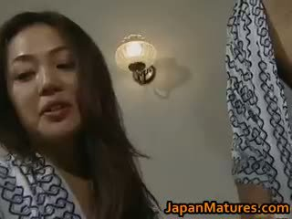 bruneta, japonec, skupinový sex, veľké prsia