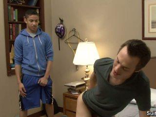 Perverted Chaps Brice Carson And Lucas Vitello Screw