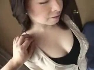 Busty young Asian wife