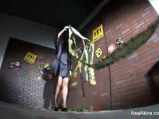 Behind the Scenes from Asa Akira vs. Zombie shoot