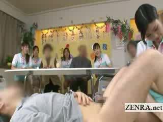 Bottomless japanese nurse sixtynine bj in public