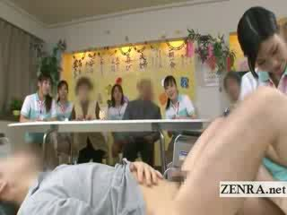 Bottomless japanese nurse sixtynine bj in public
