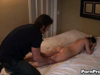 Delightful massage en neuken