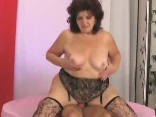 Big Butt Granny is very Horny -