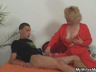 Ehefrau leaves und sie mutter fucks sohn im gesetz
