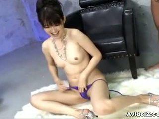 Ai himeno loves пеніс дражнити і група masturbation