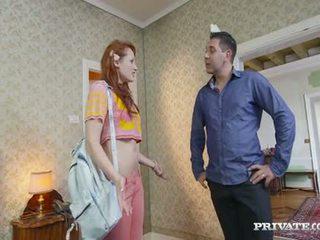 Student emy gets lured in ein hotel von die owner