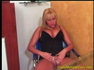 Busty Blonde Is Fucked