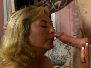Porner Premium: Stiff young boner bashing enormous tits naughty milf