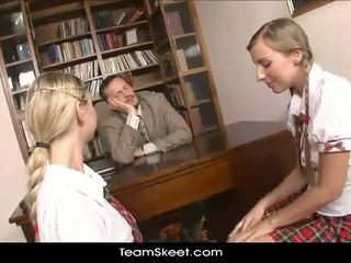TeamSkeet European schoolgirls Mina and Morgan thr