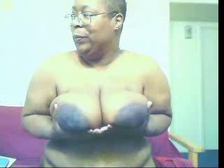granny, big tits, fat