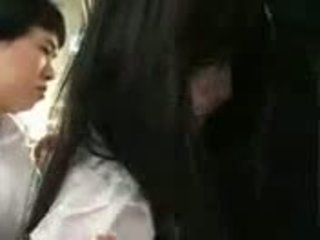 Saori Hara In The Train