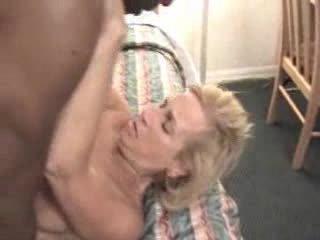 Mature wife enjoys BBC Video